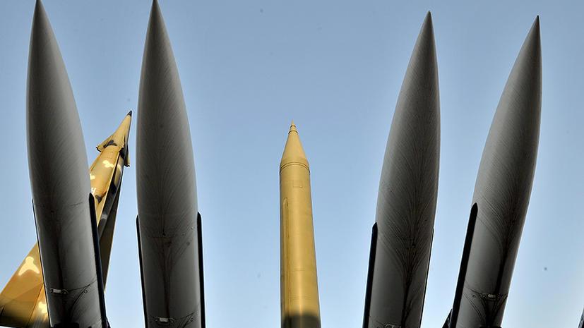 В Сирии осуществлен запуск баллистической ракеты