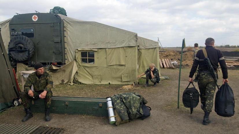 Украинская армия встретит зиму в летней форме