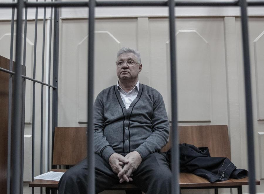 Мэр Астрахани заключён под стражу