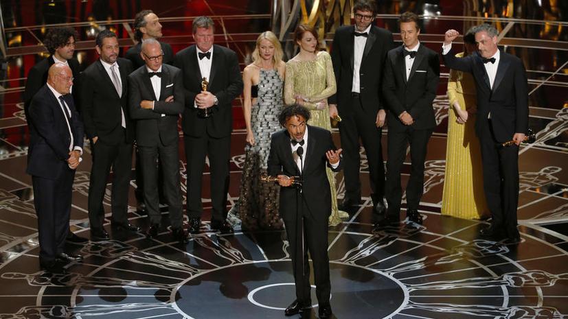 «Бёрдмэн» режиссёра Алехандро Гонсалеса Иньярриту завоевал «Оскар» как лучший фильм