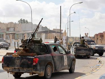 Ополченцы из Мисраты взяли в плен старейшину Бени-Валида и покинули город