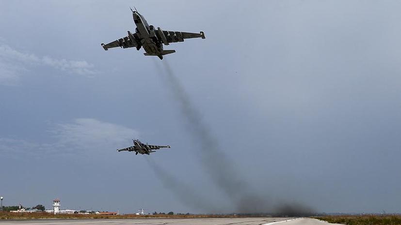 Минобороны РФ: Российская авиация не наносит удары по так называемой умеренной оппозиции в Сирии