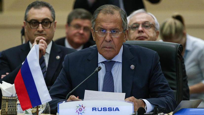 Сергей Лавров: Позиция США по борьбе с терроризмом не предполагает консенсуса