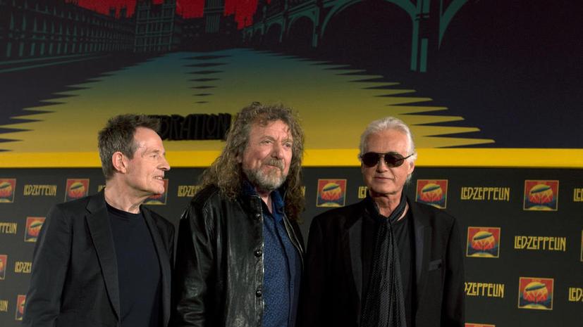 Билл Клинтон не смог воссоединить Led Zeppelin
