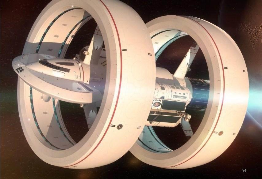 НАСА опубликовало проект звездолёта, способного двигаться быстрее света