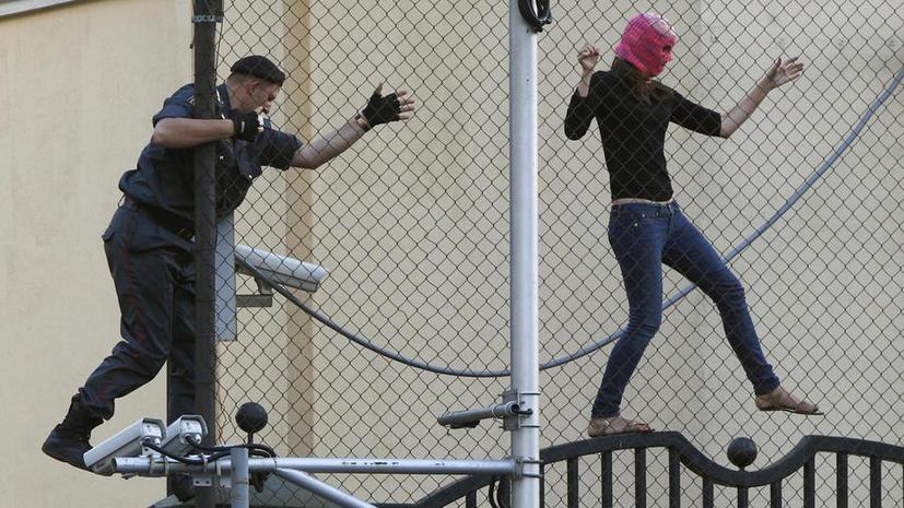 Участница Pussy Riot может выйти из тюрьмы