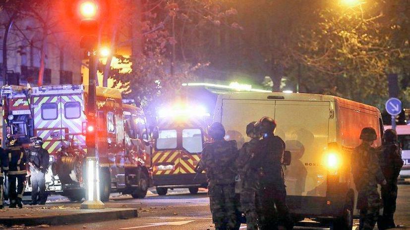 Теракты в Париже: фото и видео с места событий