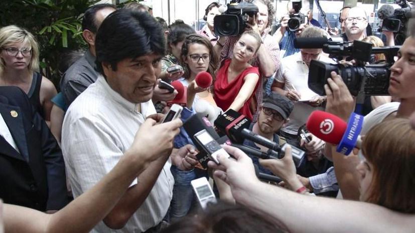 Латинскую Америку возмутил скандал с Моралесом и двуличие Европы