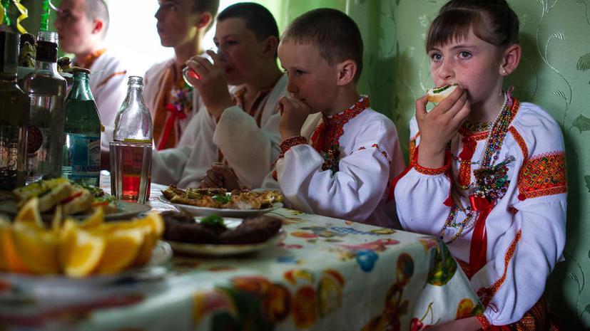 Украина готовит запрет на усыновление детей иностранцами