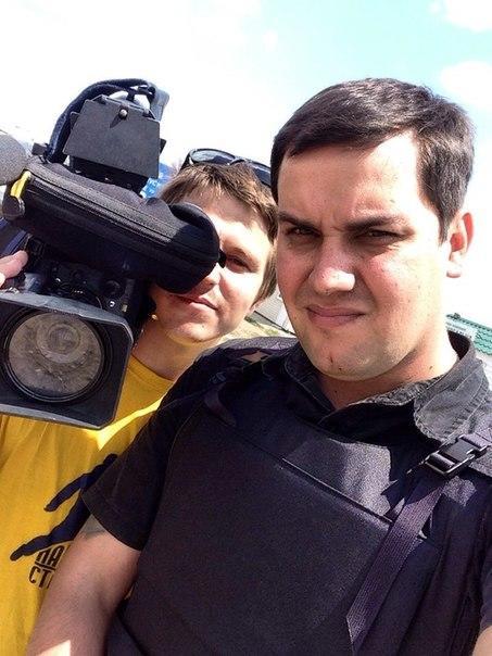 Журналисты РЕН-ТВ получили контузии во время обстрела под Луганском