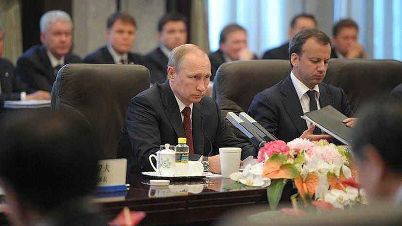 Владимир Путин: Реализация газового контракта с Китаем станет крупнейшей стройкой в мире на ближайшие 4 года