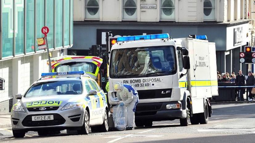 На британские призывные пункты пришли посылки с бомбами от североирландских сепаратистов