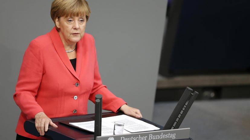 Ангела Меркель: Россия может сыграть важную роль в разрешении сирийского кризиса