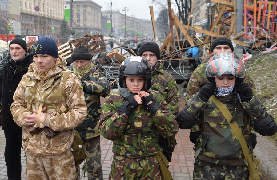 Представители «евромайдана» захватили у ОАО «КАМАЗ» 50 грузовиков на Украине