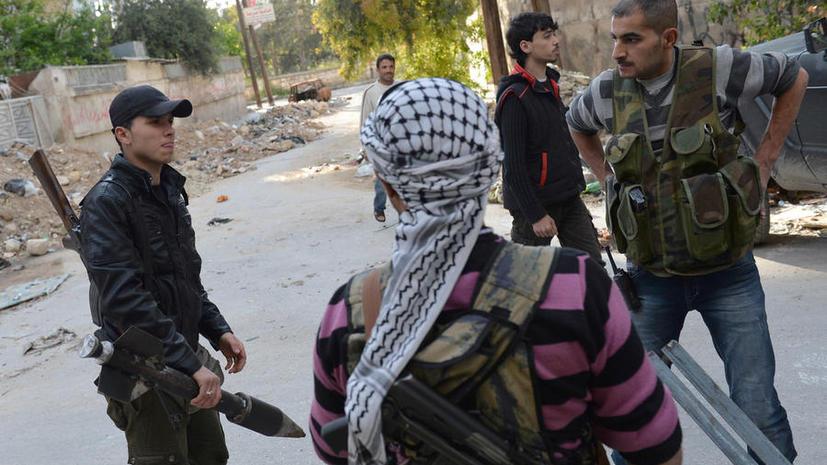 Сирийская армия разбила боевиков в пригороде Дамаска