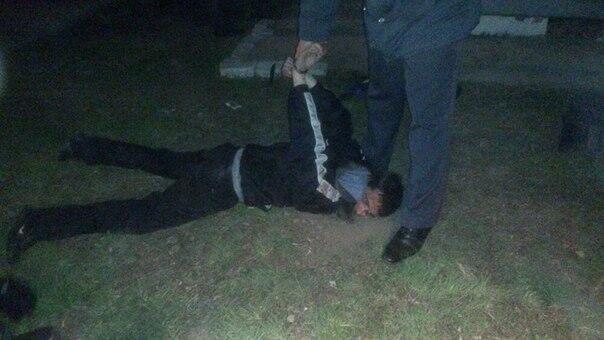 Как ловили Сергея Помазуна: первое фото с места задержания