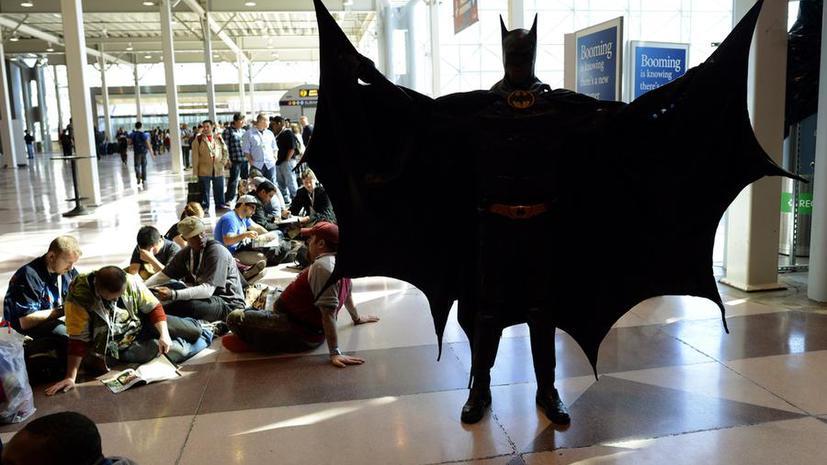 Жители Марселя призвали на помощь Бэтмена