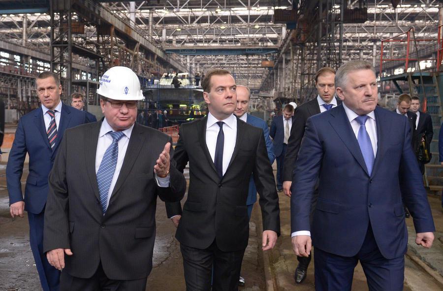 Дмитрий Медведев: Референдум в Крыму помог избежать восточноукраинского сценария