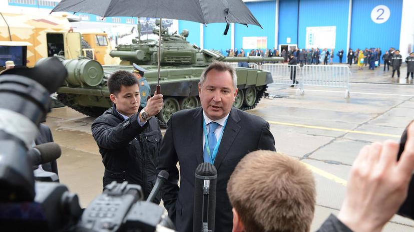 Дмитрий Рогозин: С западными партнерами я  разговариваю  на том языке, который они хорошо понимают