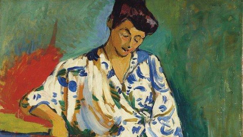 Топ-лот Christie's «Мадам Матисс в кимоно» выставят в Москве
