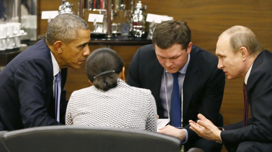 Американские СМИ считают, что Барак Обама обречён сотрудничать с Владимиром Путиным
