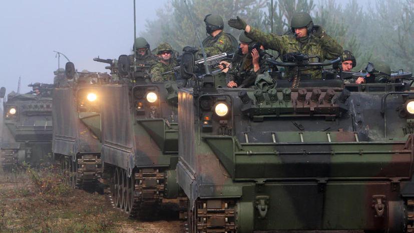 В Польше и Румынии начались военные учения с участием войск США