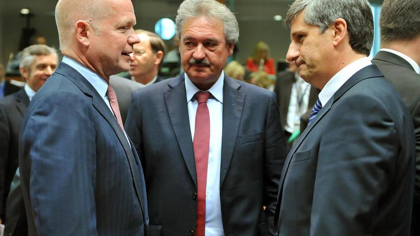 ЕС снимет эмбарго на поставку оружия сирийской оппозиции
