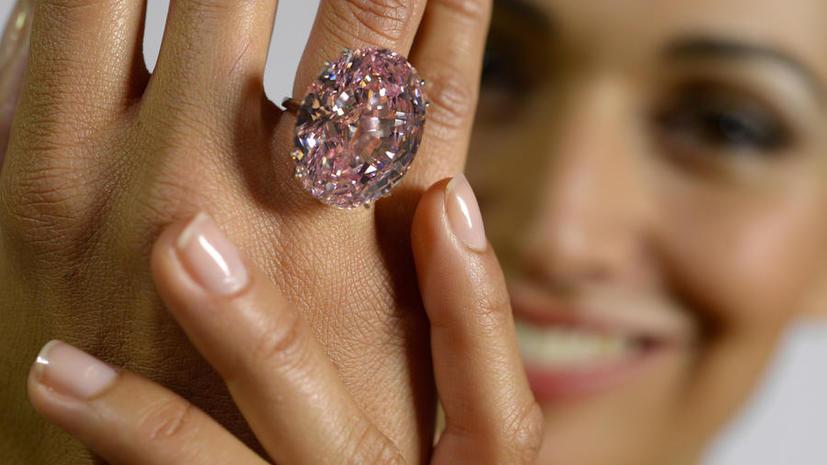 Самый дорогой в мире бриллиант выставлен на продажу
