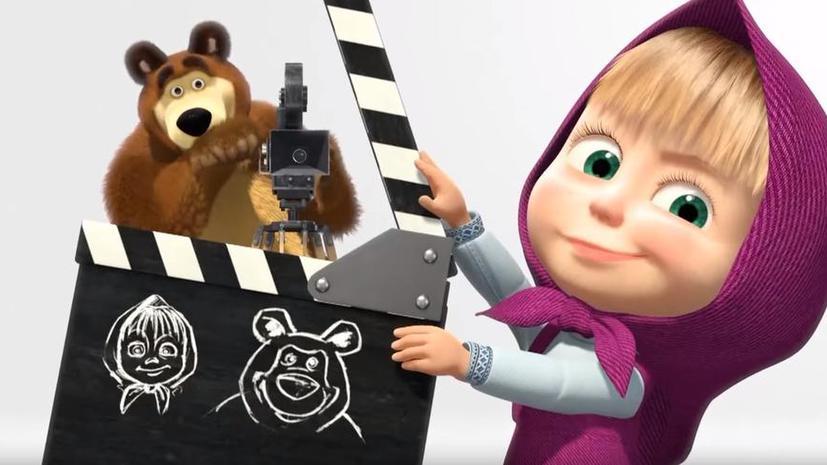 Мультфильм «Маша и Медведь» стал рекордсменом YouTube