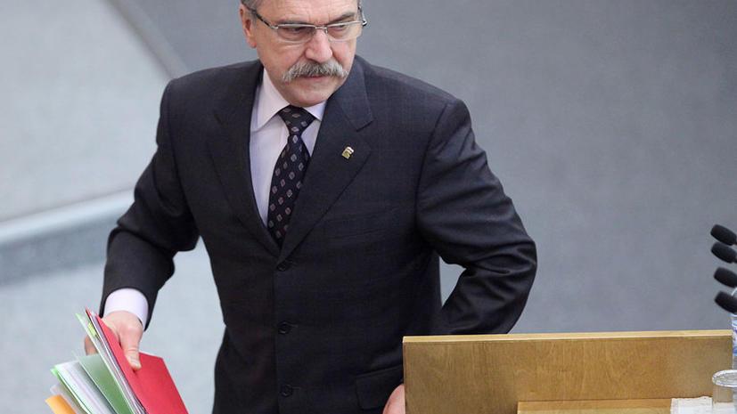 Владимир Пехтин расстанется на время с депутатской этикой