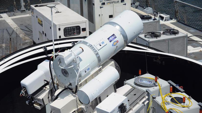 На вооружении американского флота появится корабль с лазерной пушкой