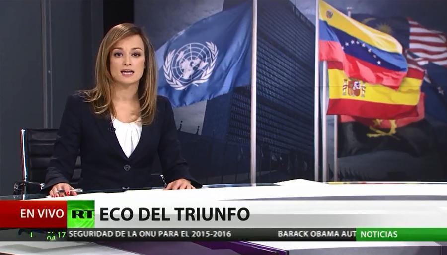 Новости RT на испанском выходят в эфир крупнейшего телеканала Венесуэлы