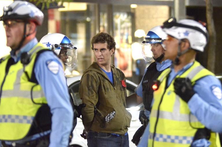 В Канаде в ходе митинга против жестокости полицейских арестованы 250 человек