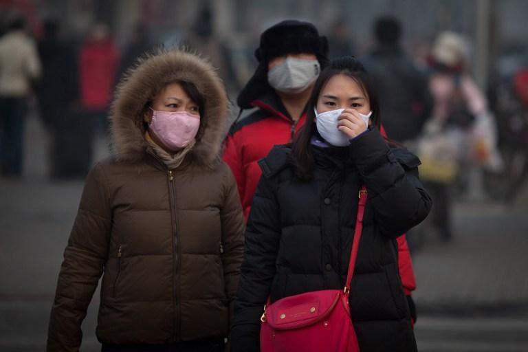 Загрязнение воздуха в Пекине достигло критической отметки