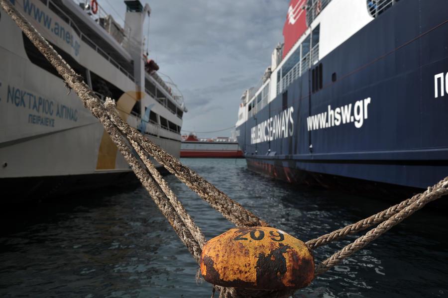 В Греции из-за забастовки остановлено морское сообщение