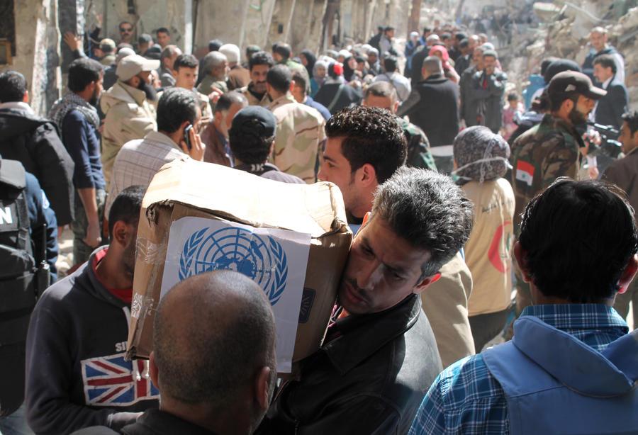 ООН на 20% урезает размер продовольственных пайков для сирийских беженцев