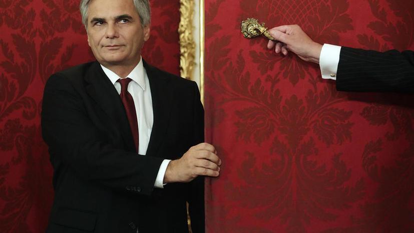 Канцлер Австрии: Ужесточением санкций Европа вредит самой себе