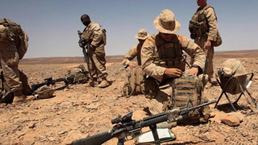 США размещают своих военных на границе Иордании и Сирии