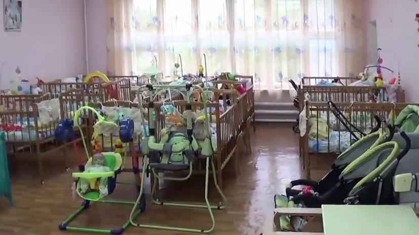 Пациенты луганского дома малютки оказались на линии фронта