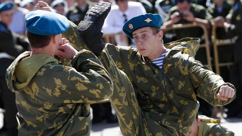 Московских школьников обучат армейскому рукопашному бою