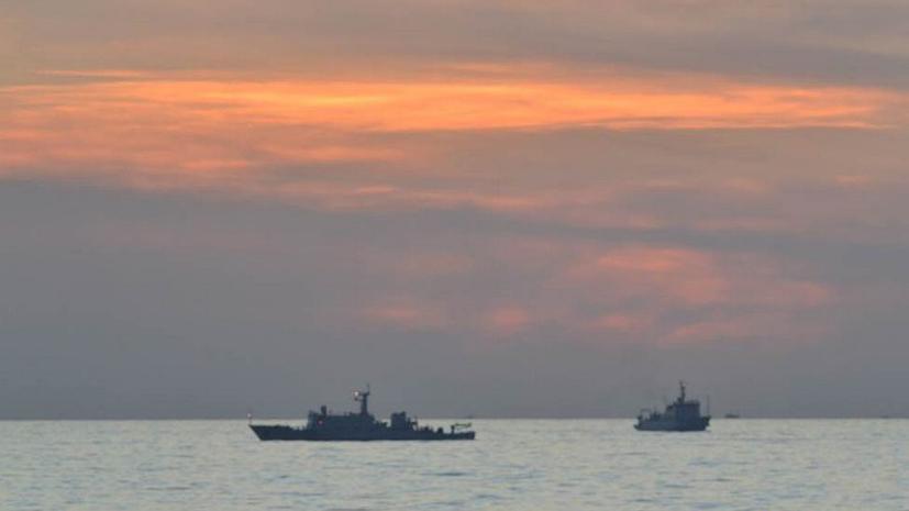Китай будет обыскивать все корабли в Южно-Китайском море
