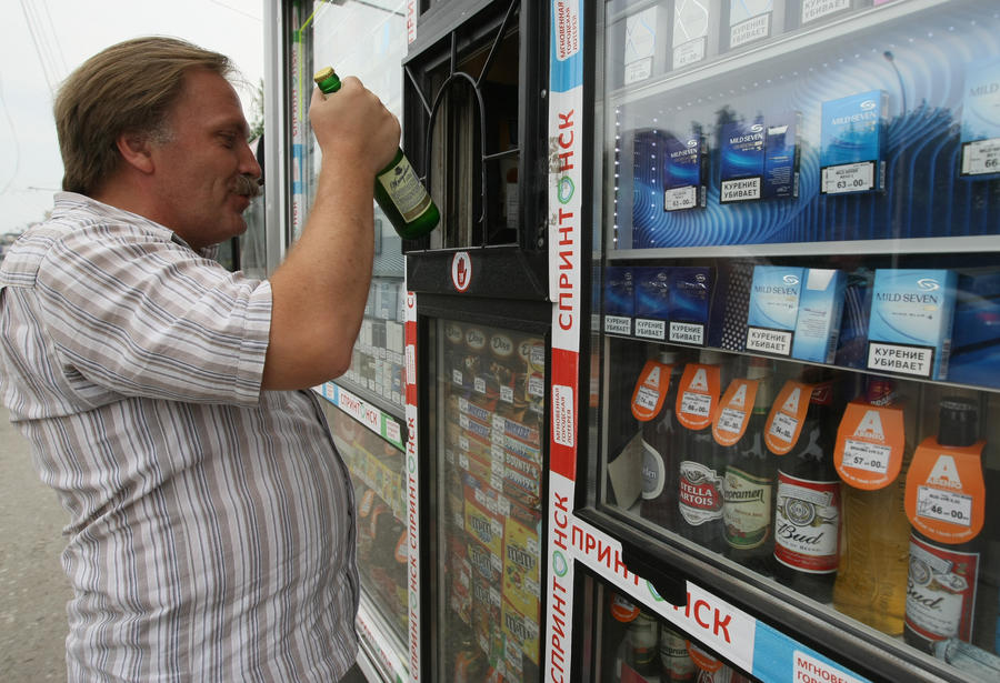 Штрафы за распитие спиртного на улице могут возрасти до 4 тыс. рублей