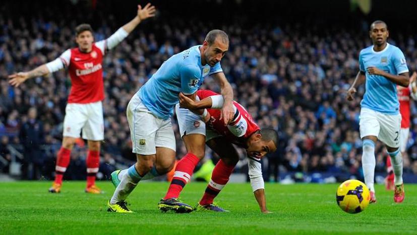 Девять мячей в одной игре: Арсенал крупно проиграл Манчестер Сити, но сохранил лидерство