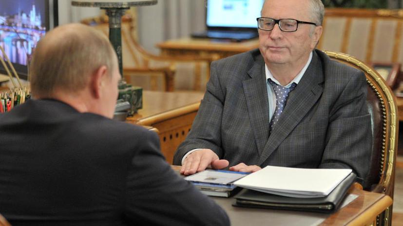 Путин не поддержал идею Жириновского об ужесточении миграционного законодательства