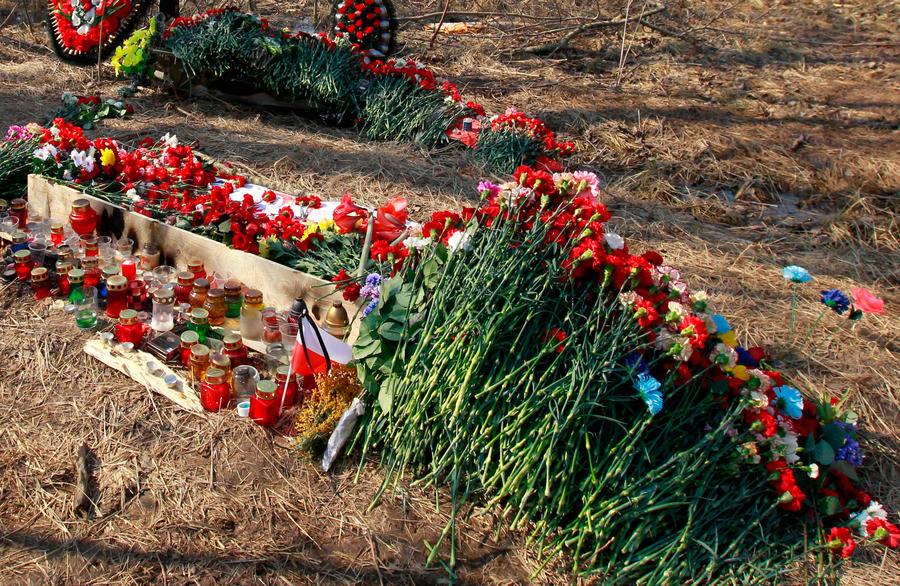 В Смоленской области военное кладбище оказалось на закрытой территории мясокомбината