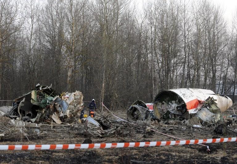 Польские эксперты нашли на самолете Качиньского следы взрывчатки