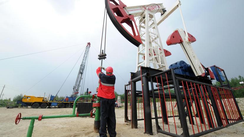 Россия установила рекорд по добыче нефти