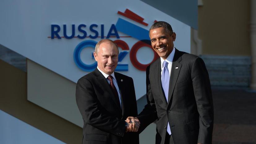 Кремль: Владимир Путин и Барак Обама провели отдельную встречу на G20 по Сирии