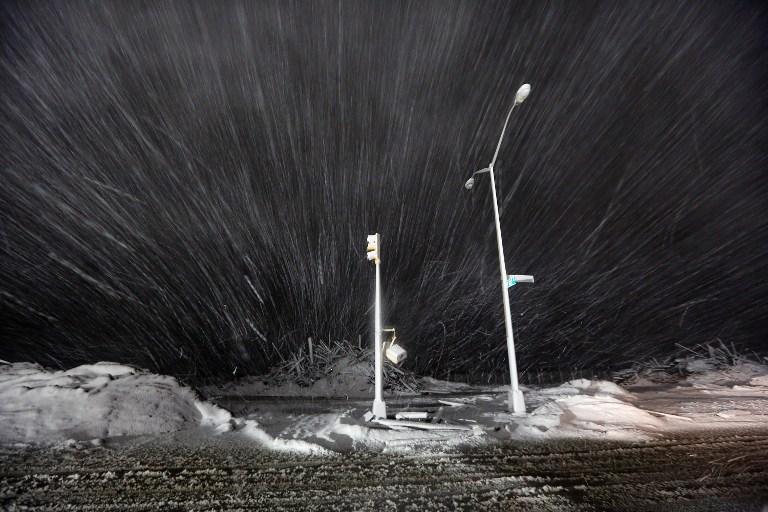 Восточное побережье США вновь оказалось во власти стихии