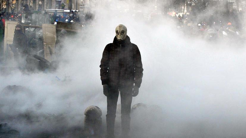 Эксперт: Протесты на Украине – это организованные акции с применением насилия
